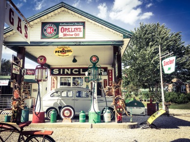 Sinclair Gas Station, Missouri