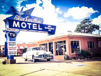 Blue Swallow Motel, New Mexico